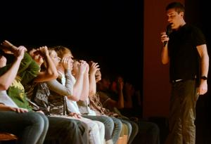 Hurley brings the magic, comedy and hypnosis back to campus