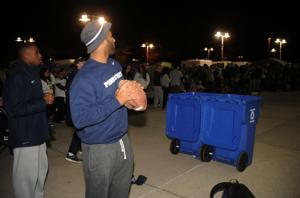 Trashcan Football With Brandon Bell