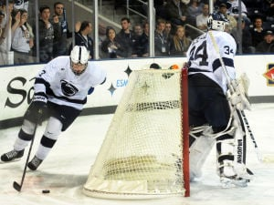 Penn State men's hockey hopes to show progress against No. 5 Wisconsin