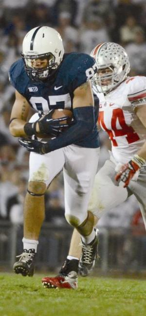 Penn State coach Bill O'Brien stands at forefront of tight end resurgence