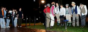 Lion Ambassadors bring history alive with lantern tours of Penn State at night