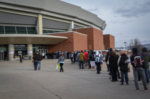 BJC reaches full capacity, no spectators being let in the building