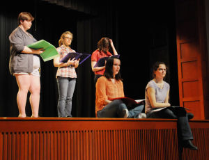 High school students tackle difficult topics with monologues