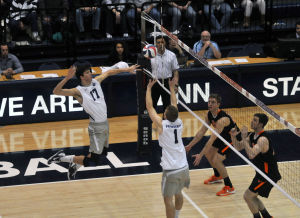 Men's volleyball's Taylor Hammond 'sets' the team up for victory