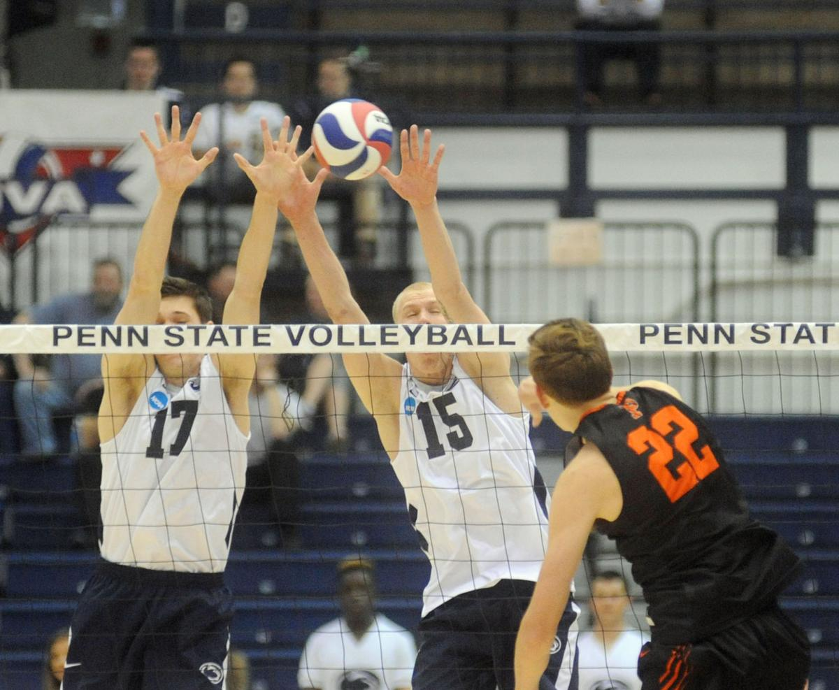 Penn State Men's Volleyball defeats Princeton 3-0 ...