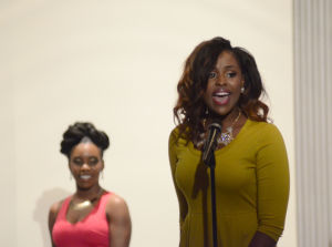 Miss Black & Gold Jerrie Rasheeda Johnson intro close-up