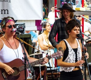 Music at Arts Festival Draws diverse performers