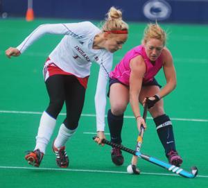 Hard work brings senior Laura Gebhart success in field hockey, life