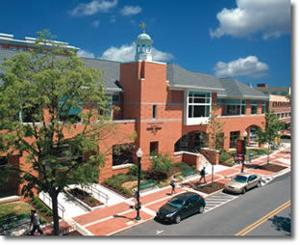 <p>The Nittany Valley Running Club has been hosting a 5k for the past 24 years to raise money for downtown's Schlow Centre Region Library, featured above.</p>