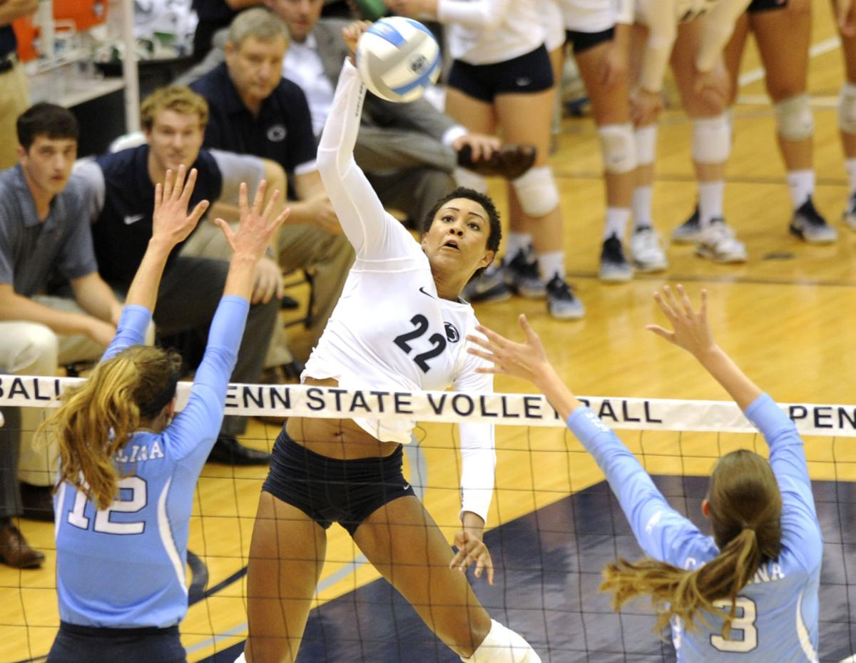Simone Lee Digs Into Leadership Role For Penn State Women