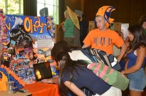 Involvement Fair showcases variety of student organizations