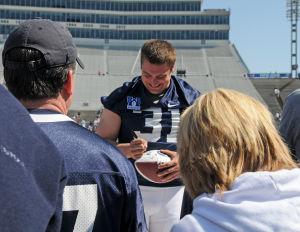 Brad bars autograph