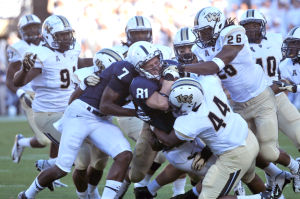 Breneman tackled