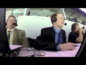 Inside the broadcast booth with Brian Tripp and Tim King of Penn State men's hockey