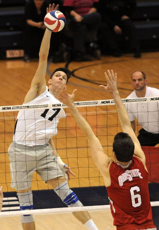 Serving helps Penn State men's volleyball defeat Princeton ...