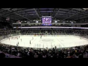 Penn State men's hockey vs. No. 5 Wisconsin time-lapse from March 8, 2014