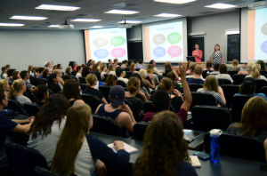 First Study Abroad 101 session of semester kicks off to full crowd