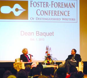 New York Times managing editor Dean Baquet speaks at Foster-Foreman Conference