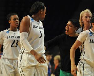 Coach speaks to Talia East