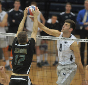Penn State men's volleyball wins two out of three exhibition matches
