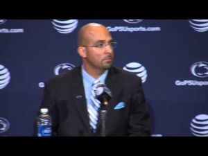 James Franklin Formally Introduced as Penn State Head Football Coach