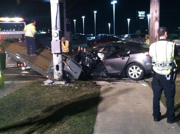 Atherton Street Car Accident
