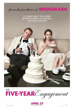 Blunt, Segel duo works well in 'The Five-Year Engagement'