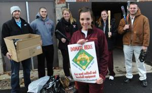Giving back: Softball player starts foundation