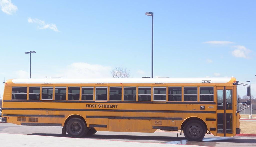 School Bus Fan : Battle rising high school s first fan bus travels