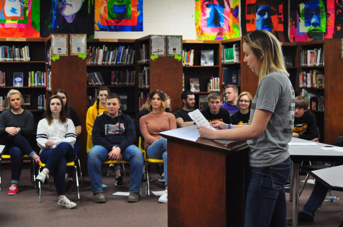 fairview students hold mock trial local news crescent news com fairview mock trial