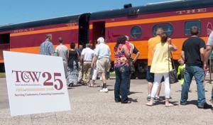 TC&W Railroad celebrates 25th birthday