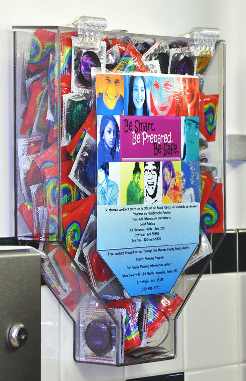 Condom Dispenser Placement Irks Parent News