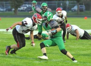 Dragons torch Wolves: Litch wins season opener 20-7 over Milaca