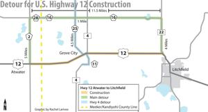 Highway 12 construction start date moved to June 8