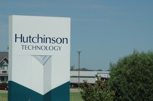 Hutchinson Technology cooperating with Department of Justice investigation