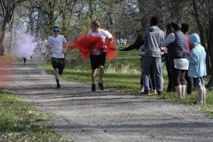 Running for color — and a good cause