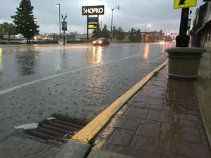 Some area overnight rainfalls totals exceeded 2 inches