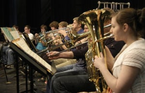 HHS band students learn to make better music