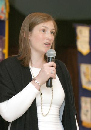 Lindsay's talk packs Rotary gathering