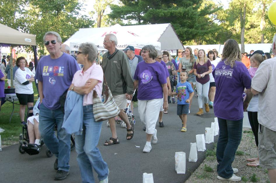 Relay walkers strolled the night away - Hutchinson Leader: Lifestyle