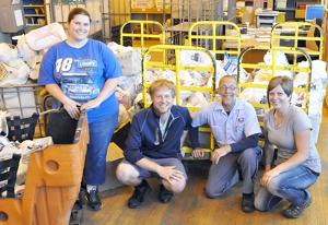 Mail carriers 'Stamp Out Hunger'