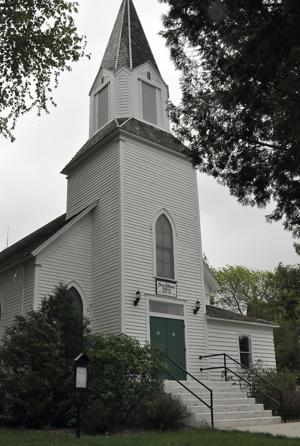 Preservation group denies Ness Church is haunted