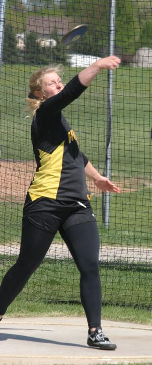 TRACK AND FIELD: Three qualifiers on first day of sections