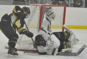 GIRLS HOCKEY: Eagles fly by in playoff opener