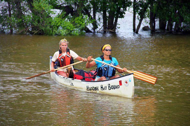 Natalie Warren to share 2,250-mile canoe trip