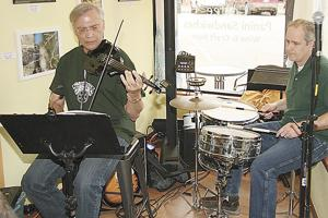 St. Patrick's Day entertainers