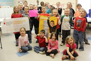 Christian School raises over $400 in Pennies for Patients