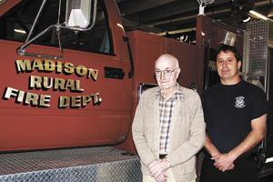 McAllister retires after 69 years on rural fire board