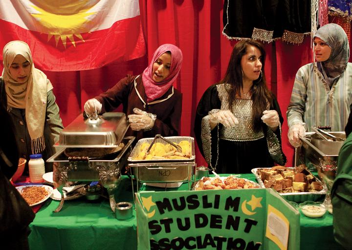 International Food Bazaar Provides Taste Of Other Cultures