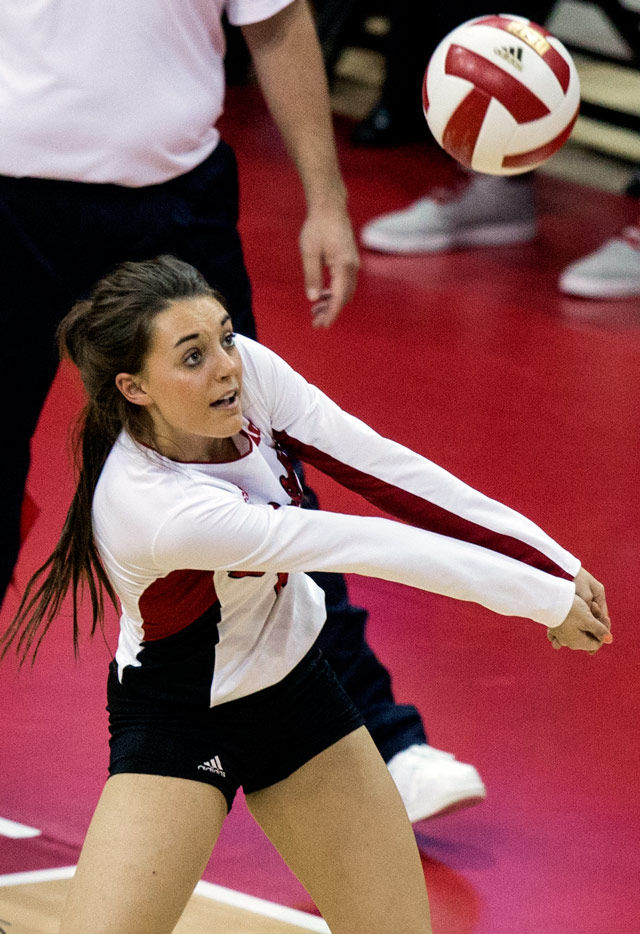 Freshman Volleyball Player Impresses With Versatility